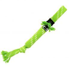 Hračka ROGZ Scrubz přetahovadlo zelené 31,5 cm