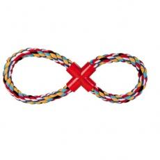 Bavlněný provaz ve tvaru osmičky pro psy - 35 cm