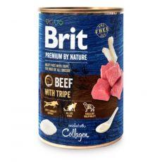 Konzerva Brit premium by Nature Beef & Tripe 400 g