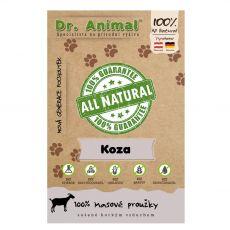 Dr.Animal 100 % kozí masové proužky 80 g