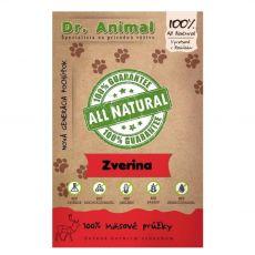 Dr.Animal 100 % zvěřina masové proužky 80 g