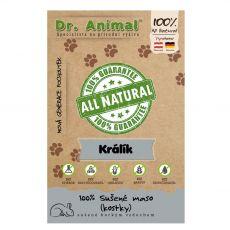 Dr.Animal 100 % králičí masové kostky 80 g