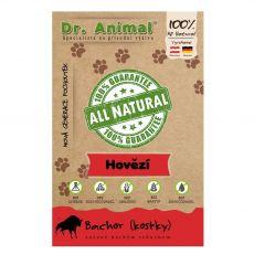 Dr.Animal 100 % hovězí bachor sušené maso kostky 80 g