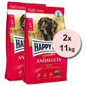 Happy Dog Supreme Sensible Andalucía 2 x 11 kg