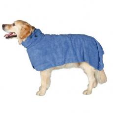 Župan pro psy - modrý - 50 cm