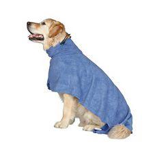 Župan pro psa - modrý - 40 cm