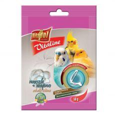 VITAPOL Vitaline mušle a vápník pro ptáky 50 g