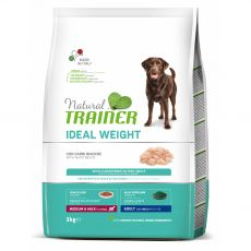Trainer Natural Ideal Weight White Meats Adult Medium & Maxi 3 kg