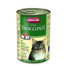 Animonda Cat BROCCONIS zvěřina a drůbež 400 g