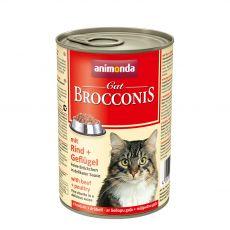 Animonda Cat BROCCONIS hovězí a drůbež 400 g