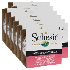 Schesir cat tuňák a červená parmice v želé 12 x 85 g
