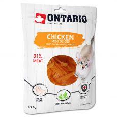 Ontario Cat mini chicken slices 50 g