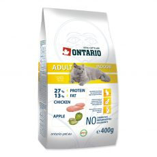 Ontario Cat Adult Indoor 400 g