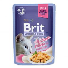 Kapsička BRIT Premium Cat Chicken in Jelly 85 g