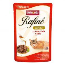 Animonda Rafiné Cat krůta, telecí a sýr 100 g