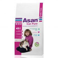 Asan Cat Pure podestýlka pro kočky 45 l