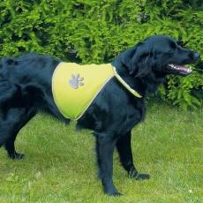 Reflexní vesta pro psy - S