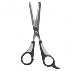 Nůžky na srst, efilační - tuplované, 18 cm