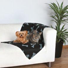 Deka pro psy a kočky - kostičky
