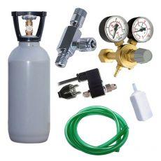 CO2 profi set 2 kg s elektromagnetickým ventilem