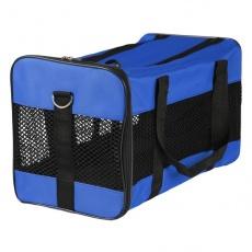 Přepravka na psy a kočky - modrá, 52 x 30 x 30 cm