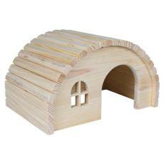 Domek pro hlodavce s oblou střechou - malý
