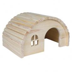 Domek pro hlodavce s oblou střechou - středně velký
