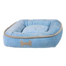 Pelech pro psa, modrý - 50 × 50 cm