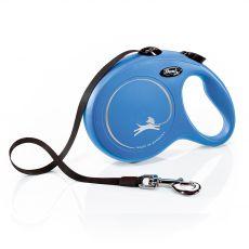Flexi NEW CLASSIC vodítko L do 50 kg, 8m popruh – modré
