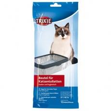 Sáčky do toalety pod kočičí podestýlky 10 ks