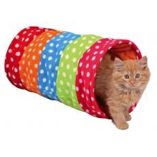 Tunel pro kočky a štěňátka, flisový