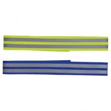 Reflexní obojek pro psy - suchý zip, 38 cm
