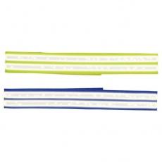 Obojek pro psy - reflexní, suchý zip, 65 cm