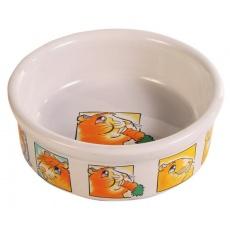Miska pro morčata keramická s obrázky - 240 ml