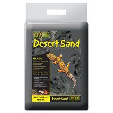 Terarijní písek - černý 4,5 kg