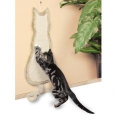Škrabadlo pro kočku ploché, kočka
