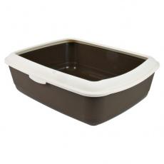 Toaleta pro kočky, plastová - 37 × 15 × 47 cm