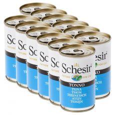Schesir cat tuňák v želé 12 x 140 g