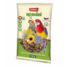 Darwin's Special krmivo pro střední papoušky 500 g