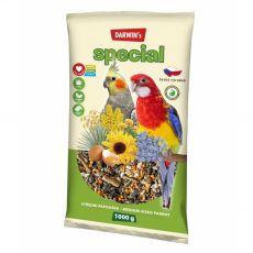 Darwin's Special krmivo pro střední papoušky 1 kg