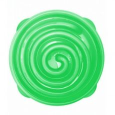 Terra Natura Slow feeder Bowl zelená spirála