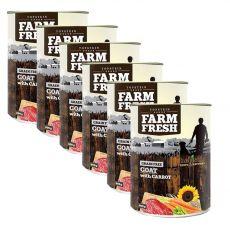 Farm Fresh – Goat with Carrot 6 x 400 g