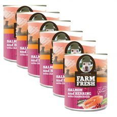 Farm Fresh – Salmon and Herring with Cranberries 6 x 750 g