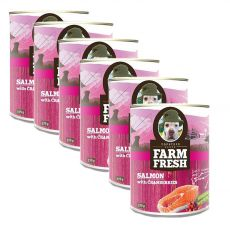 Farm Fresh – Salmon with Cranberries 6 x 375 g