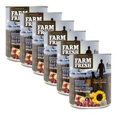 Farm Fresh – Venison and Plums with Potatoes 6 x 800 g