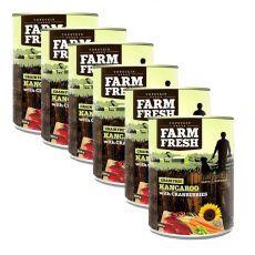 Farm Fresh - Kangaroo with Cranberries 6 x 400 g