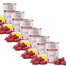 NUEVO Dog Sensitive BEEF 6 x 400 g