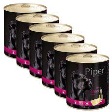 Konzerva Piper Adult s hovězími dršťkami 6 x 800 g