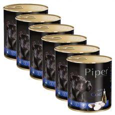 Konzerva Piper Adult s treskou 6 x 800 g