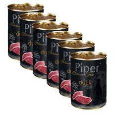 Konzerva Piper Platinum Pure kachna 6 x 400 g